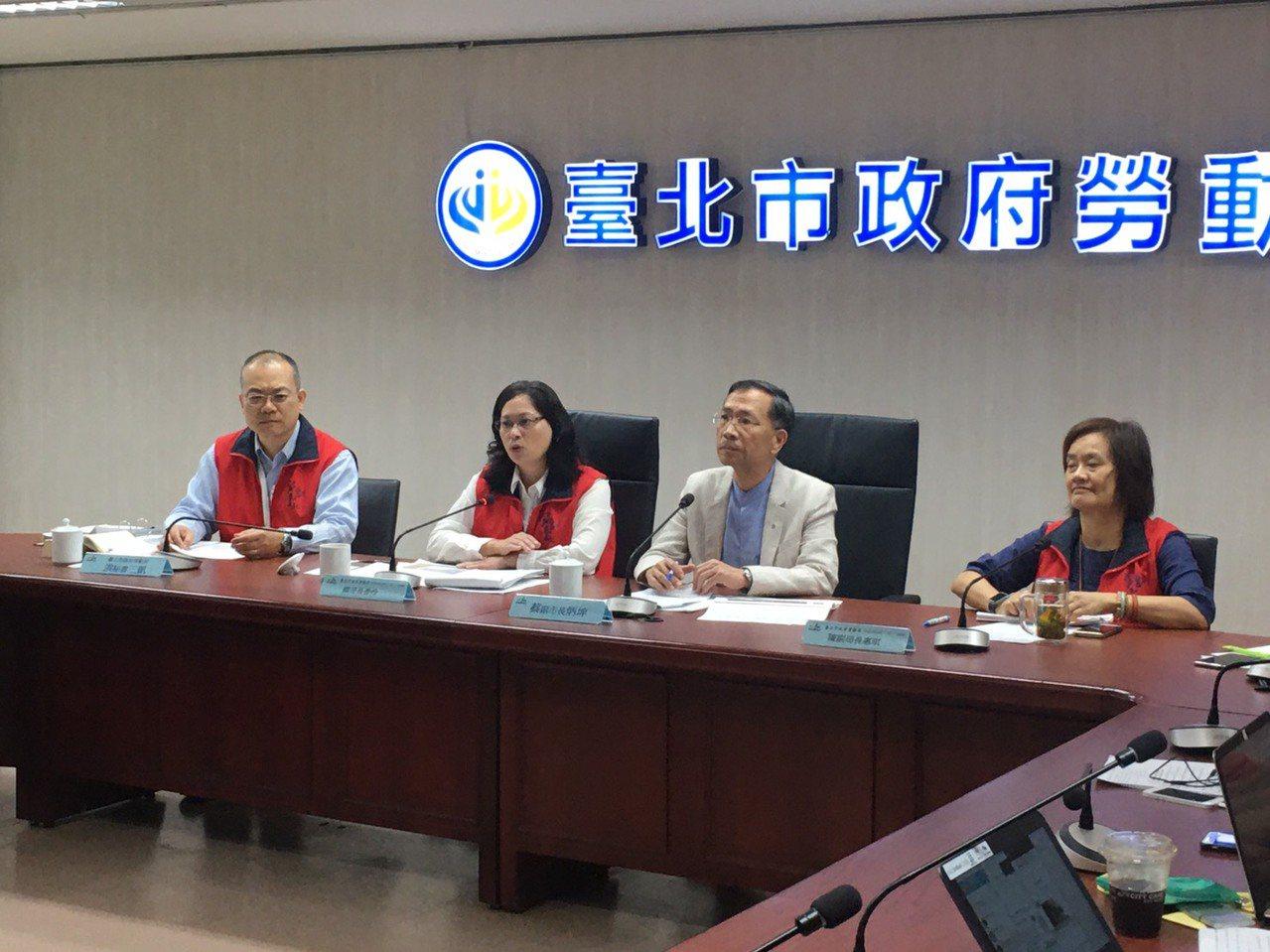 今台北市政府預告「台北市外送平台業者管理自治條例」(草案)。記者魏莨伊/攝影