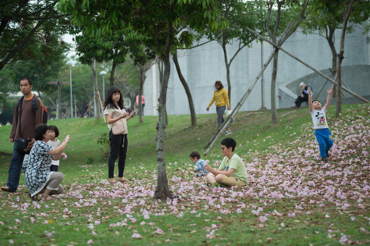 嘉義市文化公園適合親子同遊。圖/市府提供