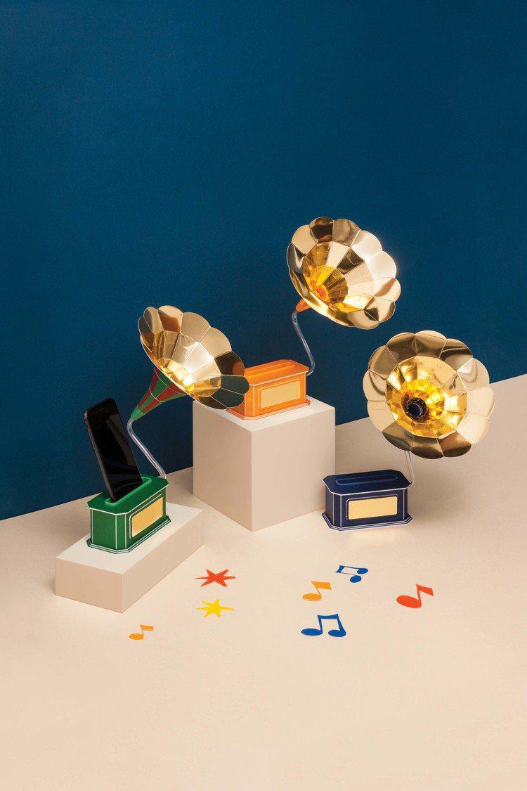innisfree 2019綠色耶誕限量DIY禮盒-紙作音樂擴音器,購買綠色耶誕...