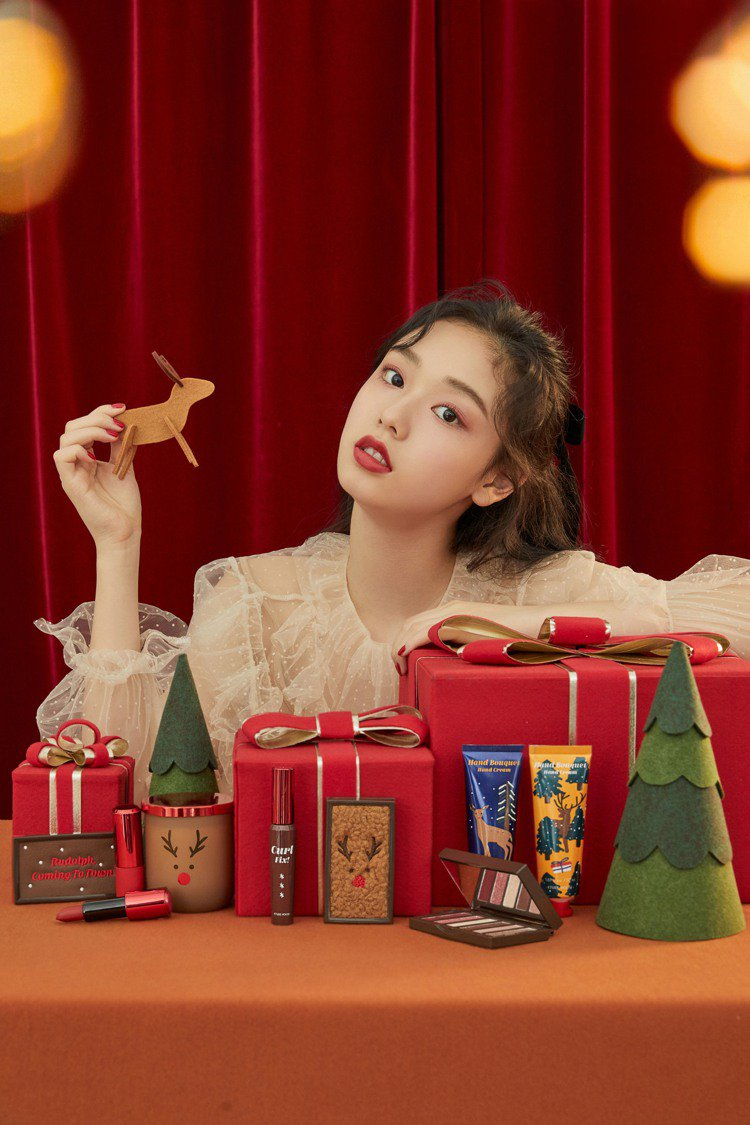 ETUDE HOUSE今年以耶誕老人的麋鹿魯道夫為主題,推出「Rudolph,c...