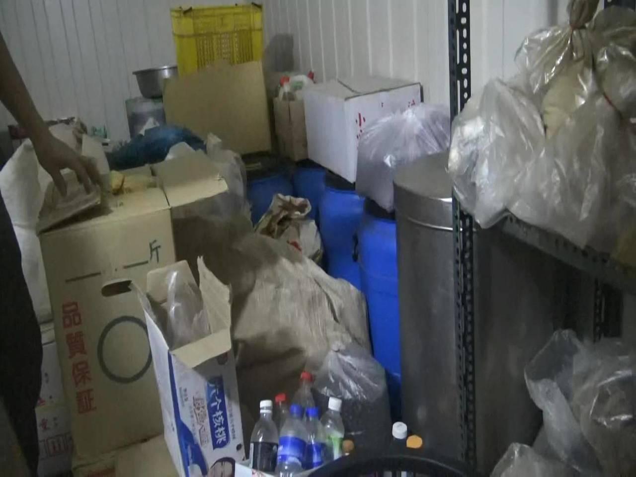 嘉義縣調查站查獲嘉義山區偽中藥工廠。圖/嘉義縣調站提供