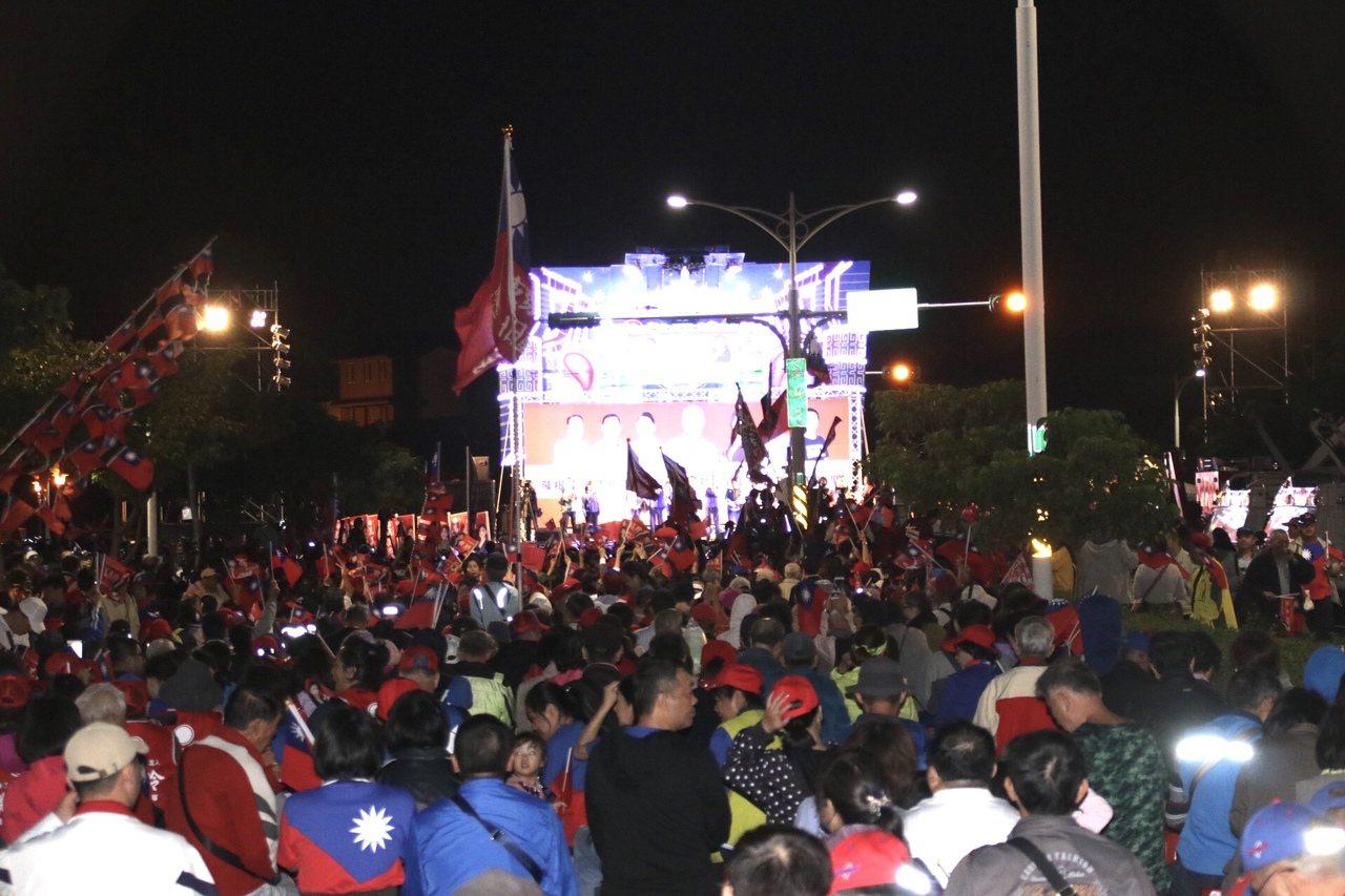 韓國瑜桃園晚會。記者曾健祐/攝影