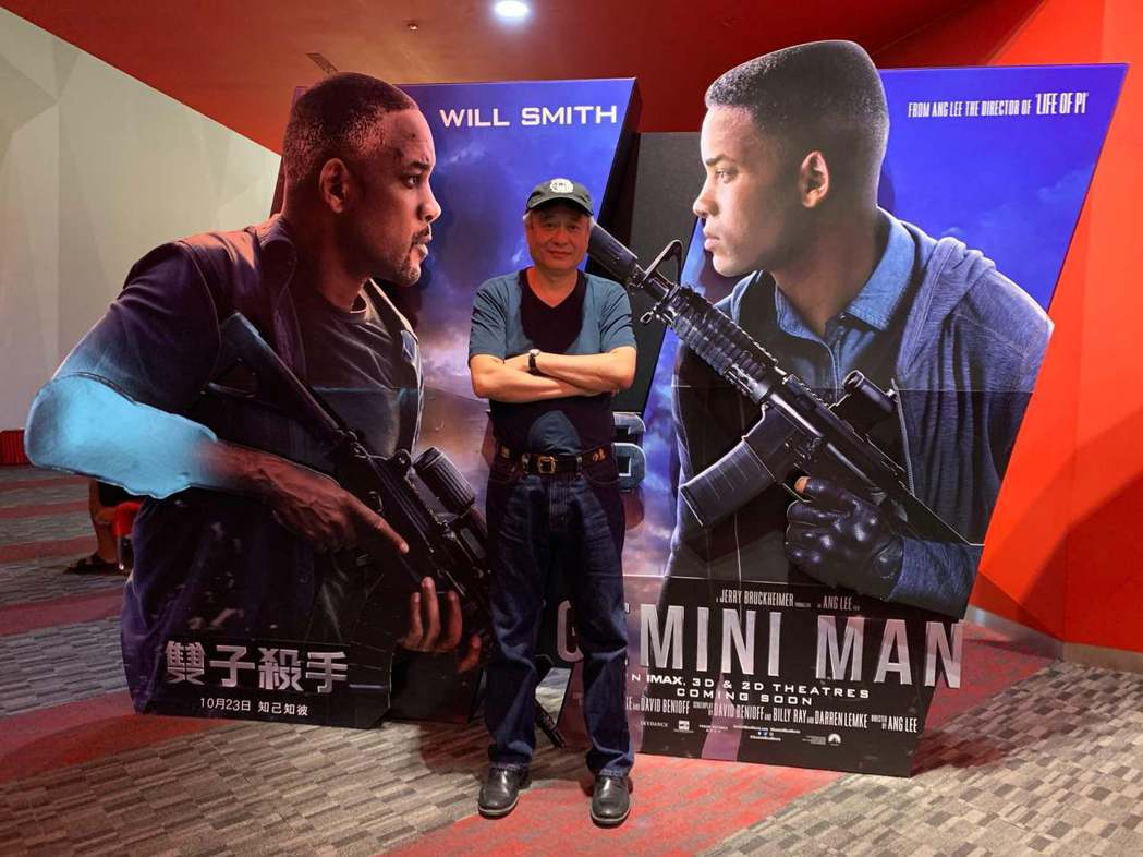李安重返兒時舊地花蓮,在花蓮新天堂樂園威秀影城看自己執導,全台最高規格的IMAX