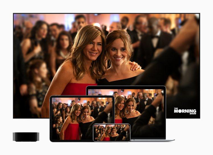 Apple TV+正式上線,透過各種蘋果裝置以及其他平台上的Apple TV A...