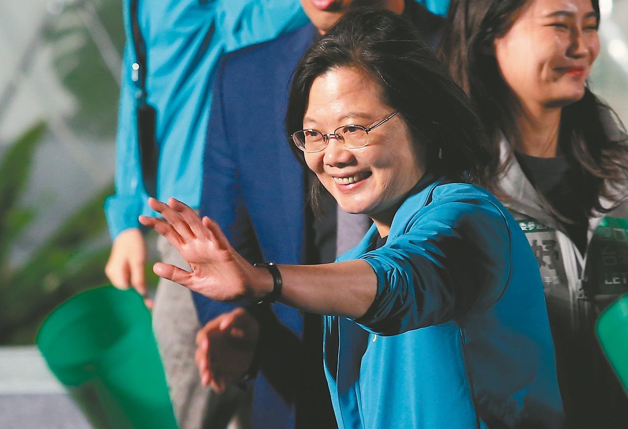 總統蔡英文。 報系資料照/記者林澔一攝影