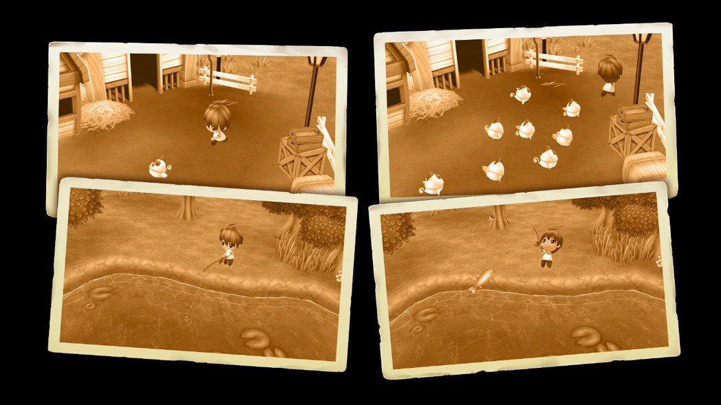 遊戲的一開始,說明了主角之所以繼承牧場的由來,原因在於幼時曾在這個由爺爺管理的牧...