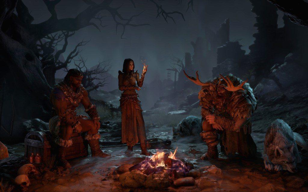 目前公開三種職業:野蠻人、魔法使、德魯伊/圖片來源:暴雪娛樂