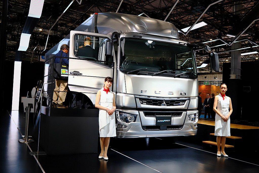 今年日本東京車展,Fuso領先其他日系重車品牌發表具備Level 2等級自動駕駛...