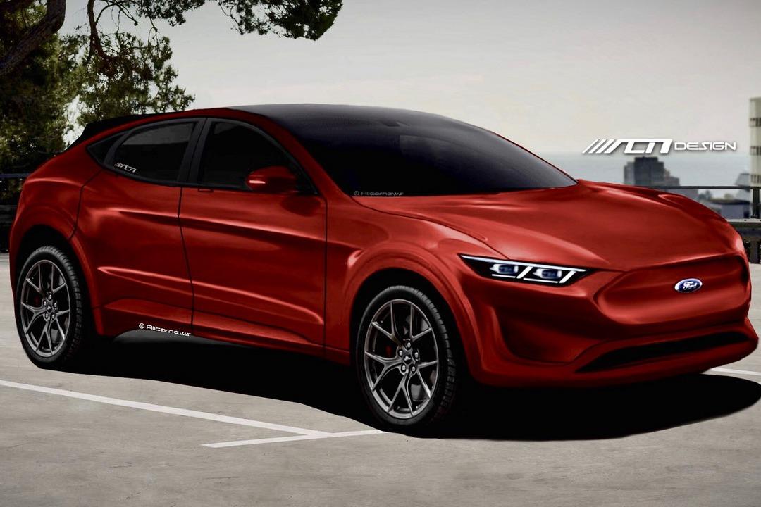Ford首部純電車Mach E兩週後亮相 設計圖卻先暴露了他的外貌!