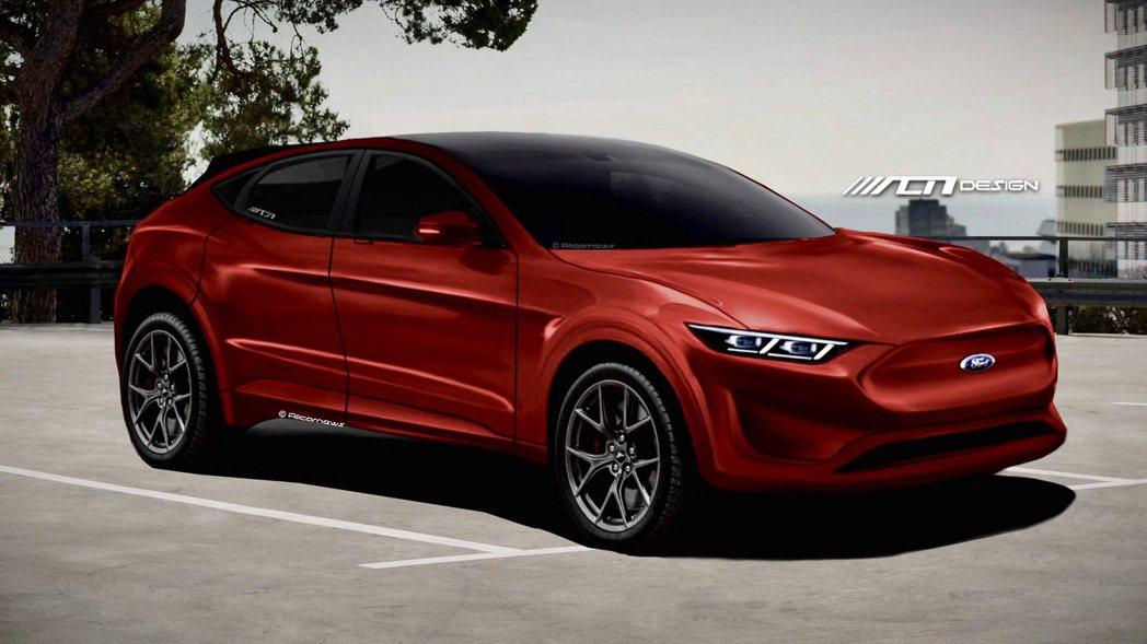 Ford首部純電車預想圖。 摘自Allcarnews