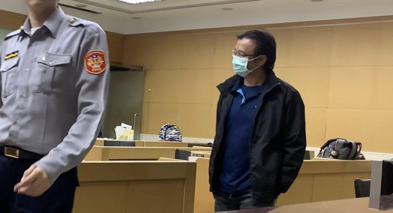 中纖黃姓採購人員遭檢方聲押。記者張宏業/攝影