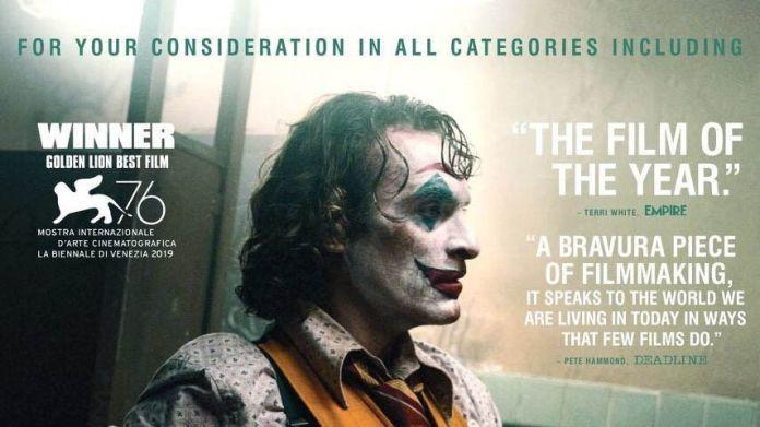 華納已為「小丑」爭取奧斯卡提名展開造勢。圖/摘自asapland