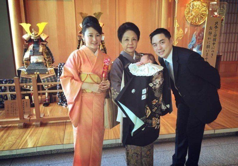 王泉仁和麻衣曾有過幸福時光。圖/摘自臉書