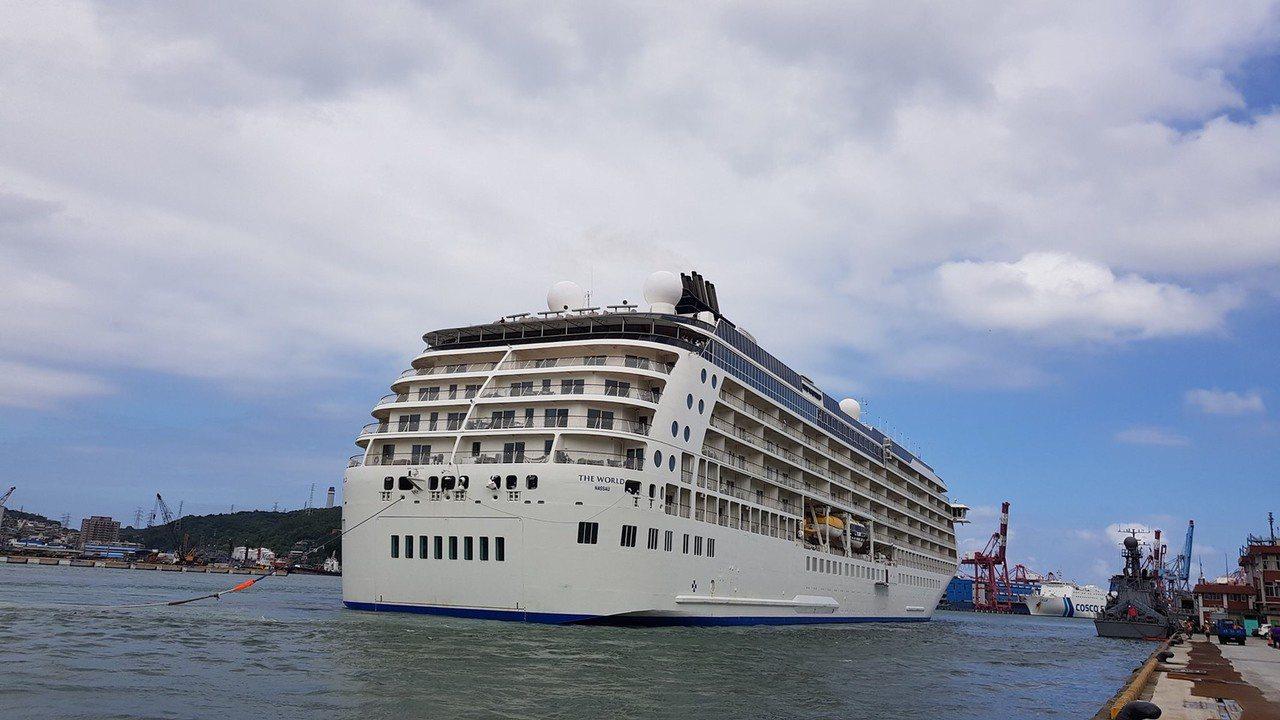 郵輪迷注意了,五輪同聚基隆港就在明天。圖/取自Cruise Keelung 基...