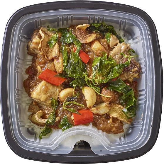 OKChoice熱炒三杯雞燴飯,售價75元。圖/OKmart提供