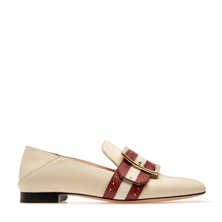 Bell Du Jour牛皮平底鞋,售價30,200元。圖/BALLY提供