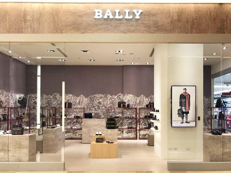 BALLY板橋大遠百專門店於10月份開始營運。。圖/BALLY提供