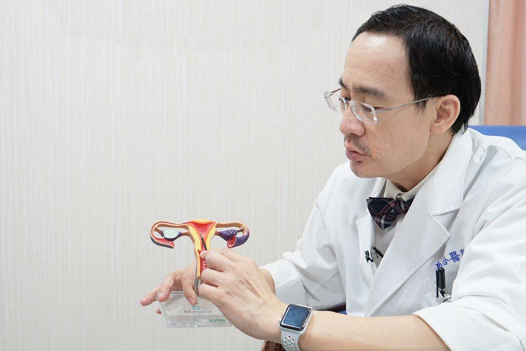 郭綜合醫院婦產部部長林大欽表示,許多女性都有子宮異常出血困擾,大部分原因為子宮息...