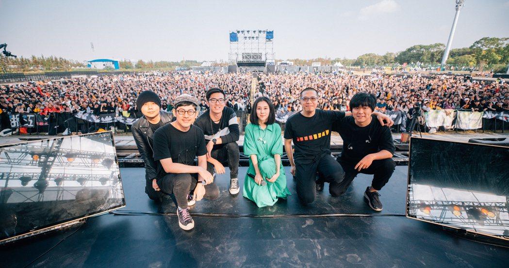 白安今天受邀於2019上海麥田音樂節演出。圖/相信音樂提供