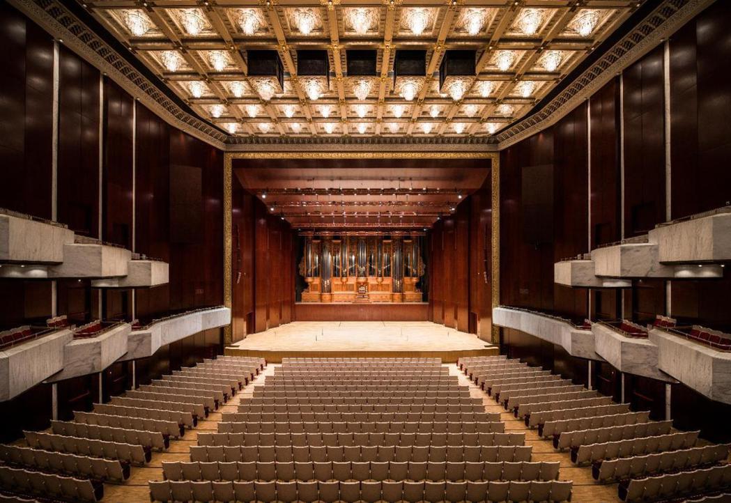 台北國家音樂廳內部。 圖/兩廳院提供