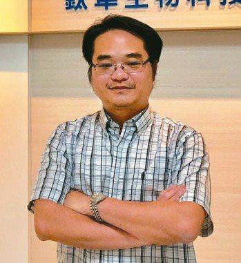 鈦隼執行長陳階曉 (聯合報系資料庫)