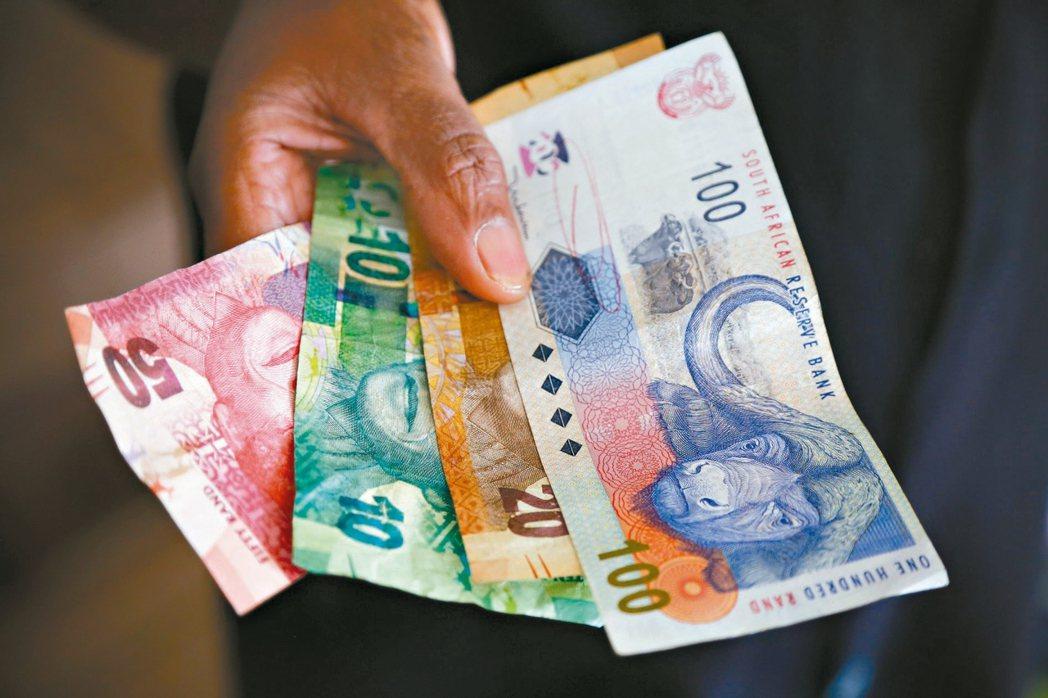 南非貨幣蘭德 美聯社