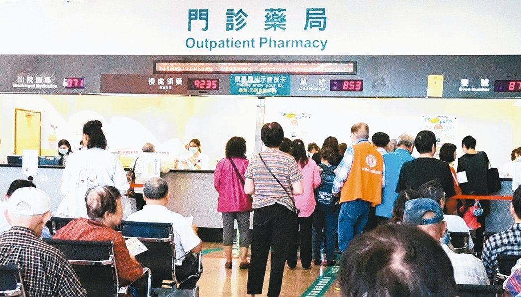 藥廠業務在環境複雜的大型醫院裡,要能面面俱到,八面玲瓏。 本報資料照片
