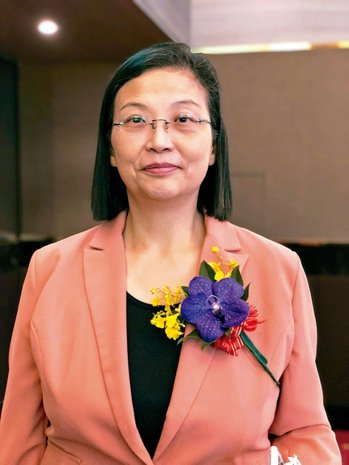 環球晶董事長徐秀蘭。 圖╱本報資料照片