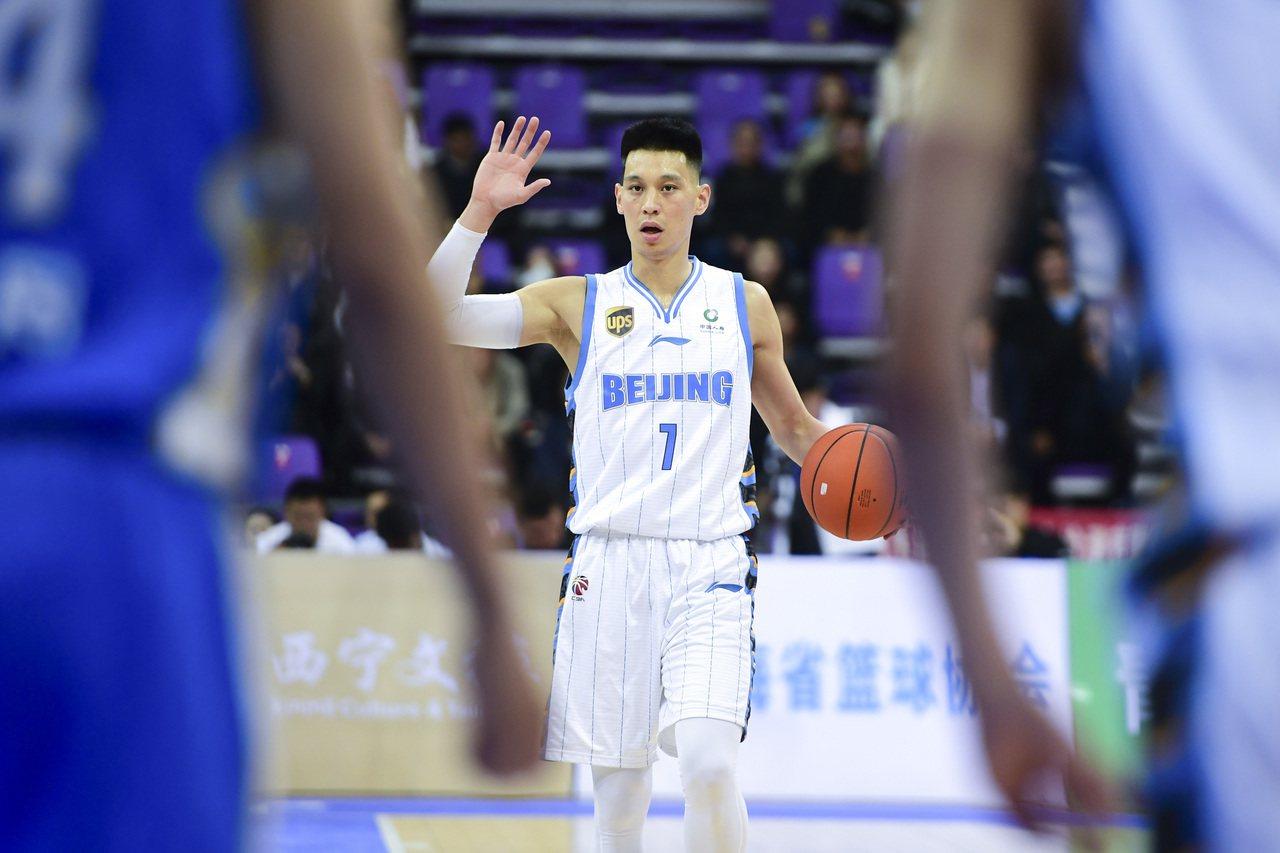 林書豪。新華社資料照