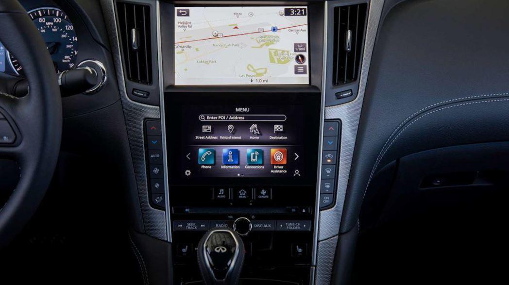 新款Infiniti InTouch系統可支援Apple CarPlay和And...