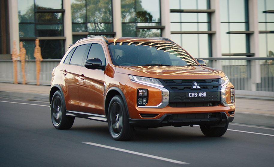2020 Mitsubishi ASX GSR。 摘自Mitsubishi Mo...