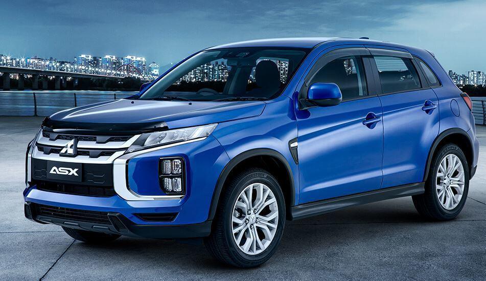2020 Mitsubishi ASX。 摘自Mitsubishi Motors
