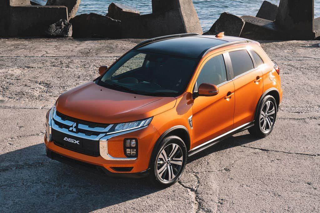 2020 Mitsubishi ASX Exceed。 摘自Mitsubishi...