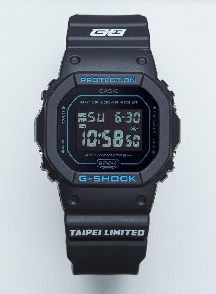 G-Shock Taipei五周年紀念DW-5600BBMGT5腕表,4,500...