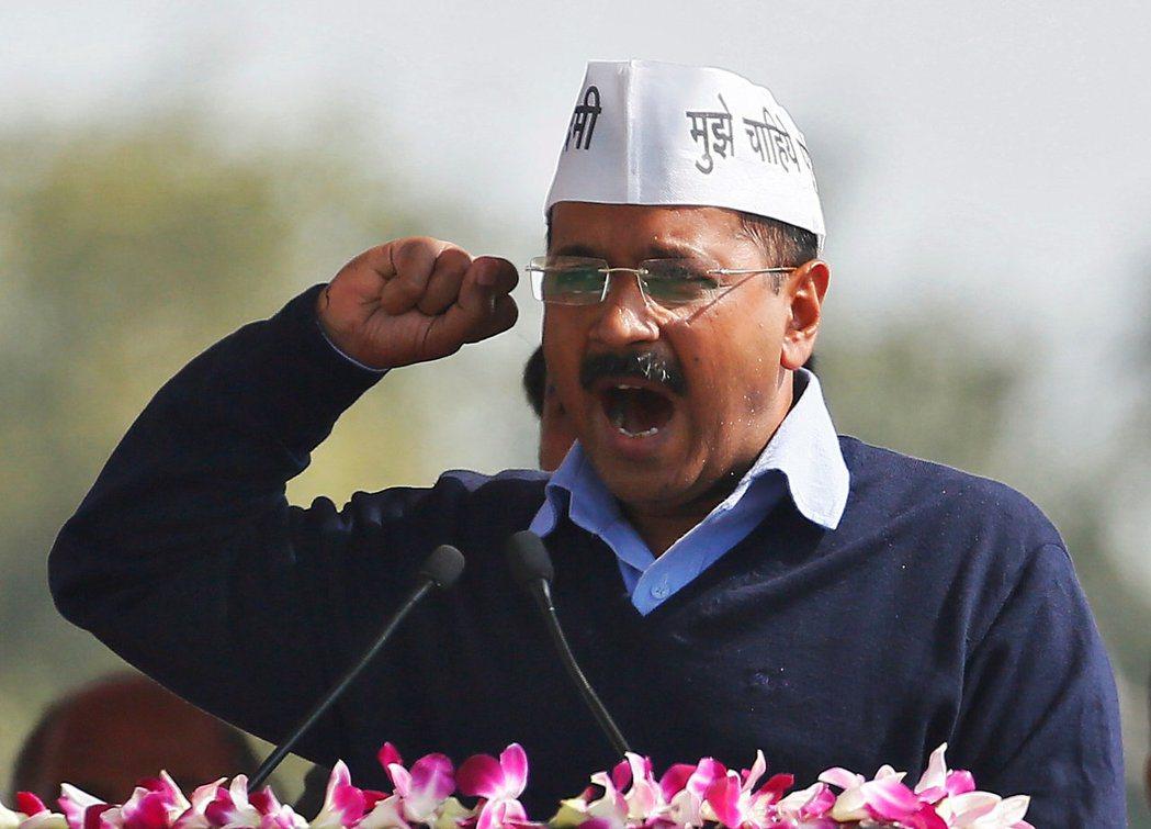 德里首都轄區首席部長克里瓦爾。 (路透)