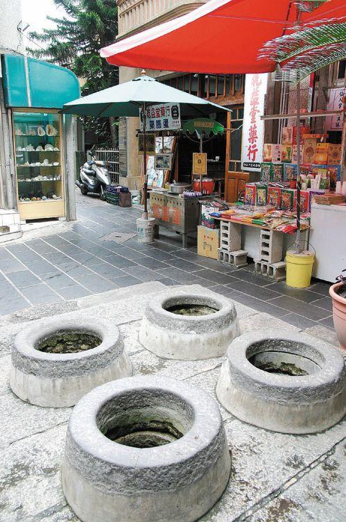 歷史悠久的中央街四眼井。圖/聯合報系資料照片