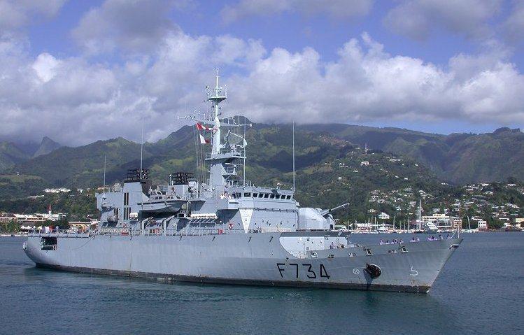 法國海軍葡月號巡防艦。圖╱維基百科