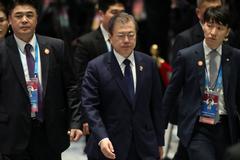 南韓民調:文在寅施政支持率下滑至44.2%