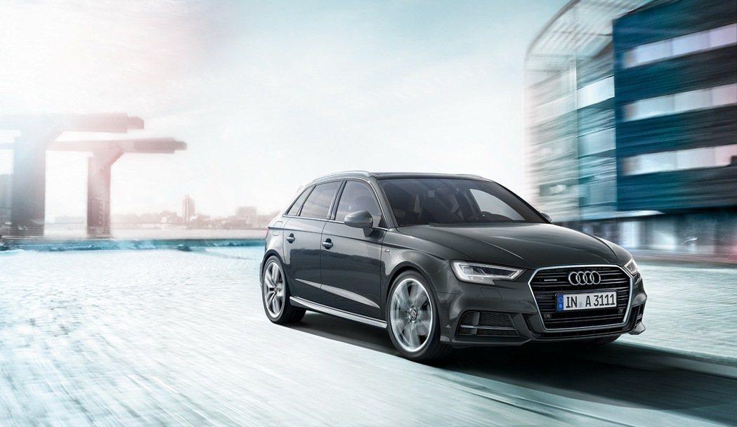 Audi A3 Sportback。 圖/台灣奧迪提供