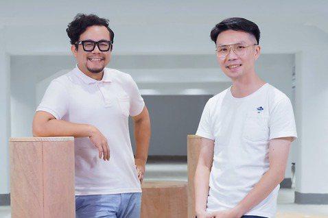 本月《倡議+》客座總編雜學校創辦人蘇仰志(左)、阿雜社會事總召葉文宏(右)。 ...