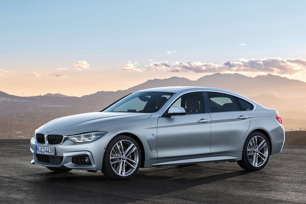BMW 4 Series Gran Coupe。 摘自BMW