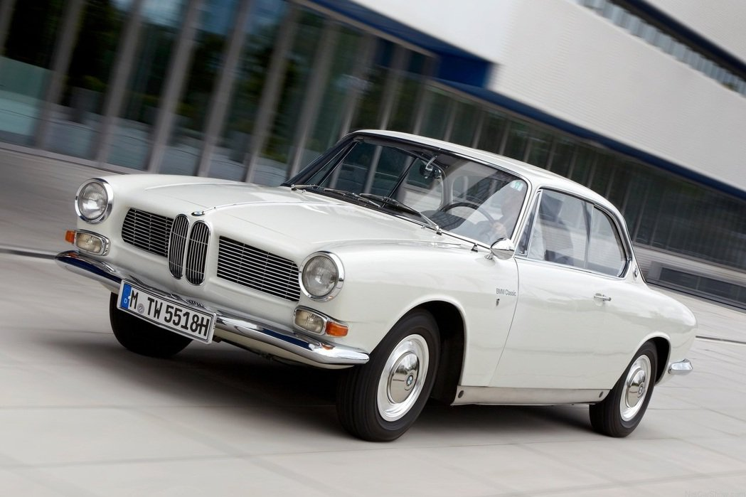 1962 BMW 3200 Coupe CS。 摘自BMW