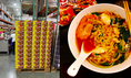 好市多驚見「澄金色泡麵」正妹急囤貨 網友全瘋了:吃過就回不去了!