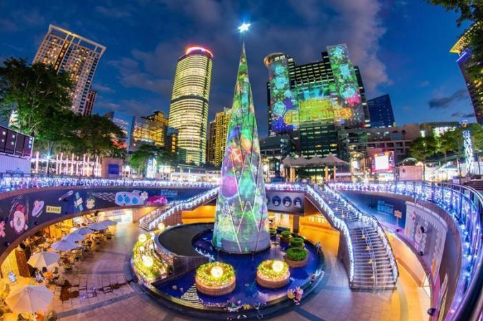 2019新北市歡樂耶誕城(11/15開城)。 圖/新北市政府觀光旅遊局