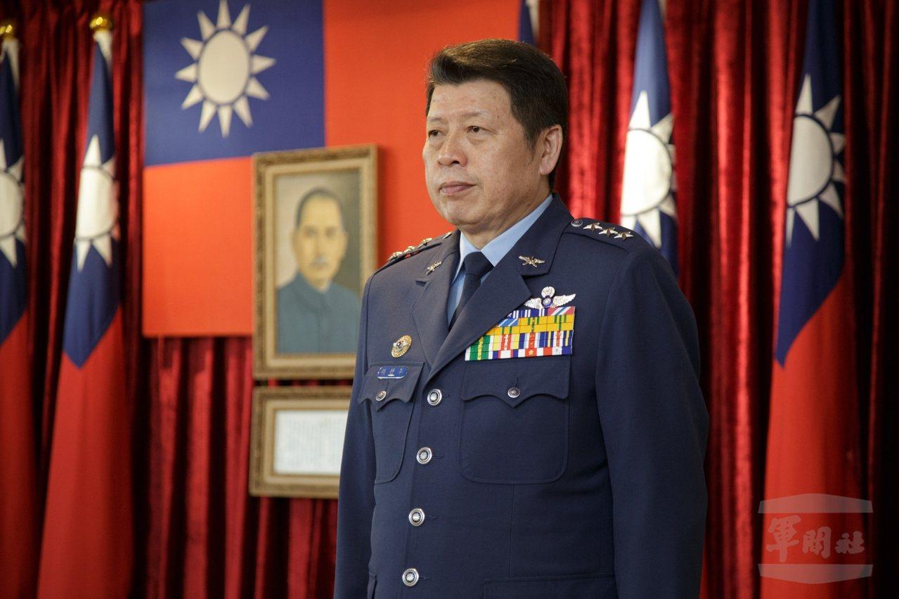 國防部副部長張哲平。圖/軍聞社