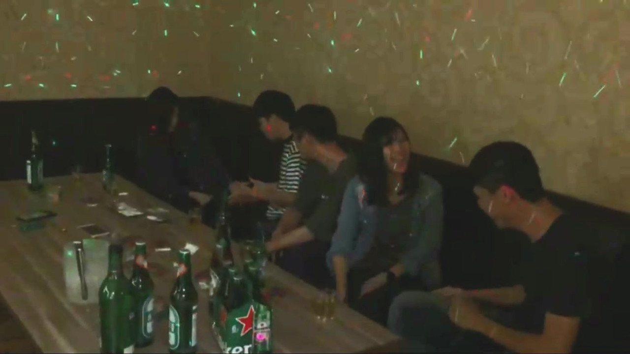 台南市刑大「吸一口沒關係」臉書短導影片劇照。記者謝進盛/翻攝