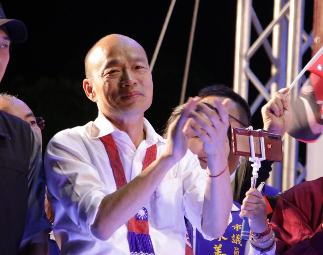 國民黨總統參選人韓國瑜拋出「就學貸款免息」的政策。圖/聯合報系資料照片