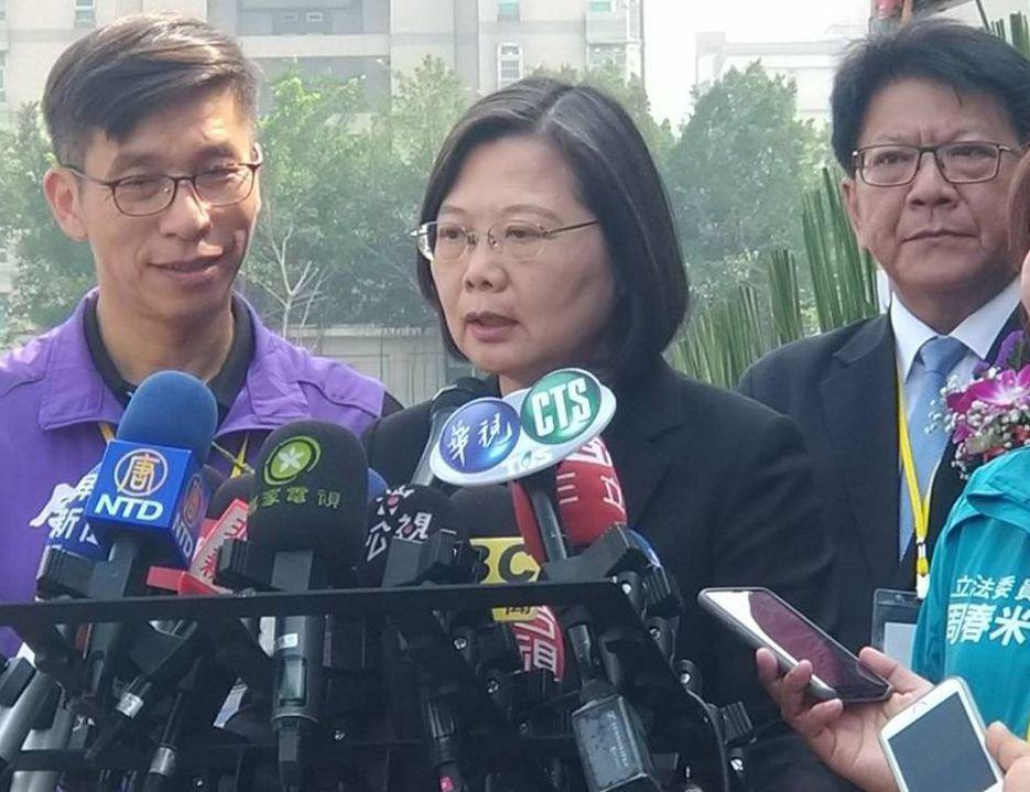蔡總統5日表示,中國現在全力推動對台26項措施,就是為實現對台灣的「一國兩制」方...