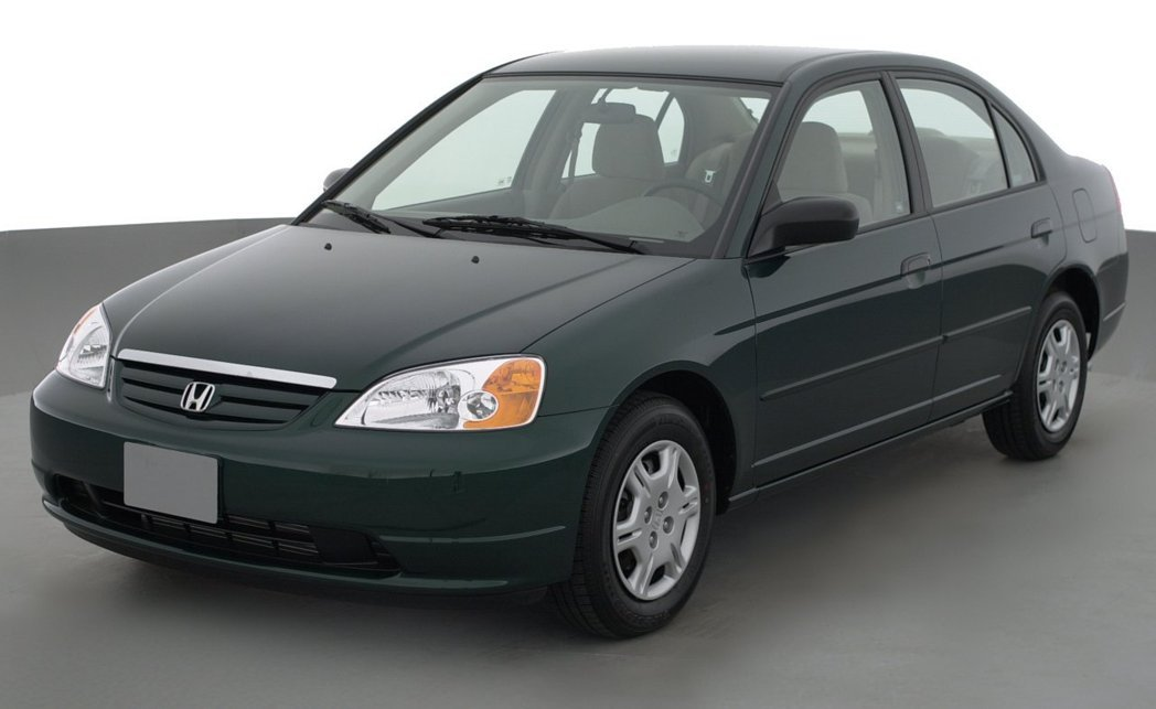 2001 Honda Civic Sedan。 摘自Honda