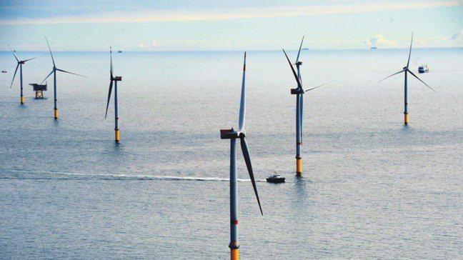 離岸風機。本報資料照片